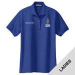 L500 - BSAE067 - EMB - National Sea Scout Committee Ladies Polo