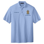 Nat Council - Sea Scouts Logo - Emb - K500 - Pique Polo