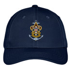 Nat Council - Sea Scouts Logo - Emb - C868 - Solid Cap