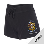 Nat Council - Sea Scouts Logo - Emb - B5371 - Women's Swim Shorts