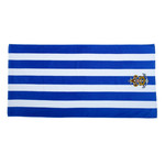 Nat Council - Sea Scouts Logo - Emb - C3060S - Striped Towel
