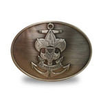 Nat Council - Sea Scouts Logo - SEA-Buckle - Sea Scouts Belt Buckle