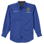 Nat Council - Sea Scouts Logo - Emb - S608 - Long Sleeve Easy Care Shirt