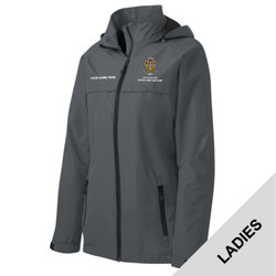 L333 - EMB - Ladies Waterproof Jacket