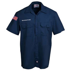 1574DN - EMB - Men's Dickies Shirt