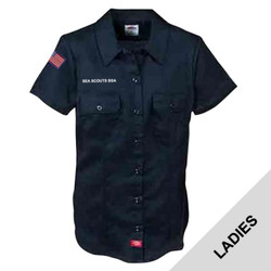 FS574DN - EMB - Women's Dickies Shirt